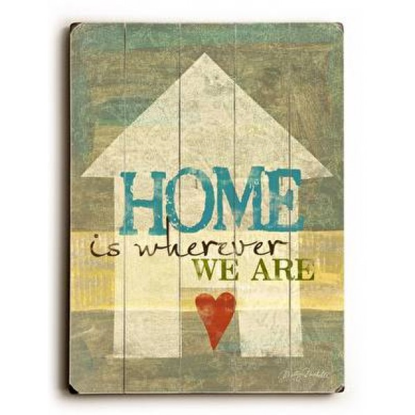 Home is wherever we are