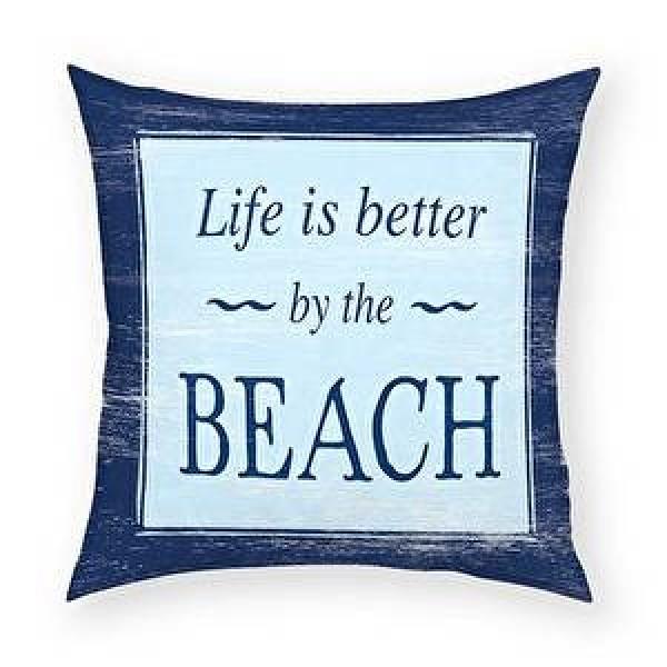 Beach-Life is Better Pillow