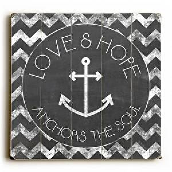 Love & Hope Anchors the Soul