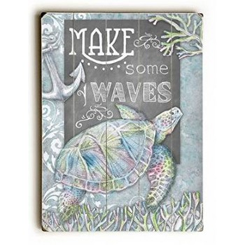 Make Some Waves - Turtle