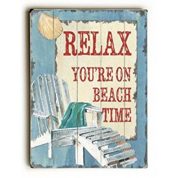 Relax You're on Beach Time