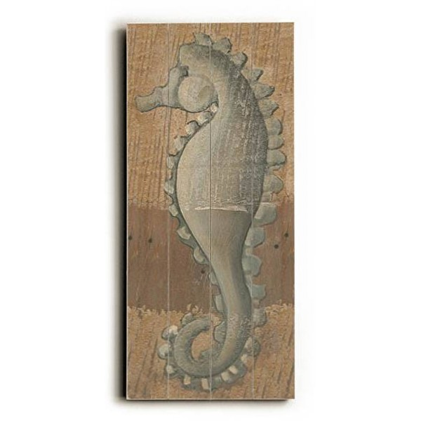 SeaHorse Wooden Wall Art