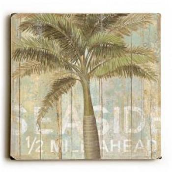 Seaside Ahead - Palm Tree