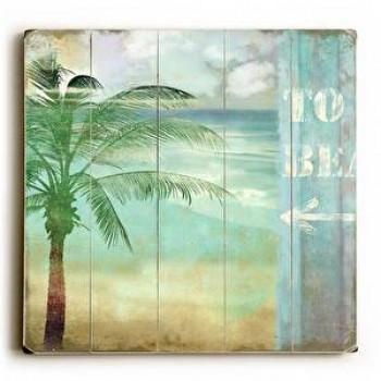 To Beach - Palm Tree