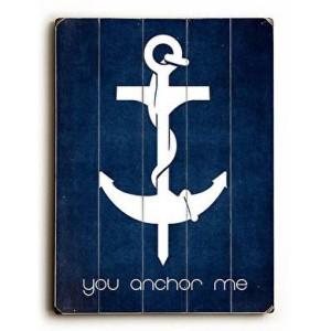 You Anchor Me
