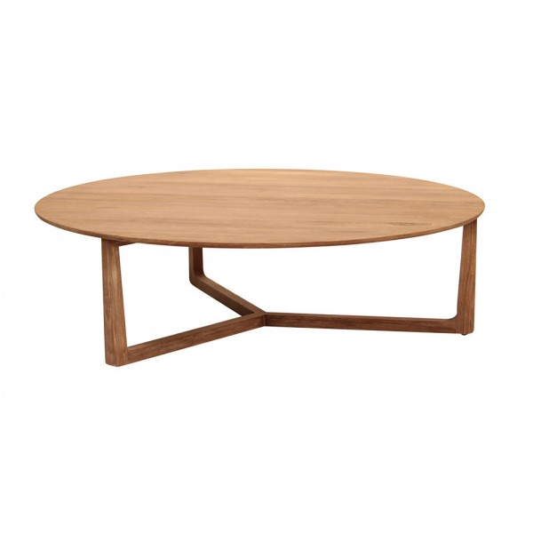 Calvin Lily Pad Table-White Wash