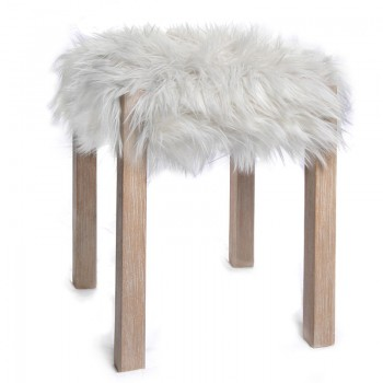 White Lambic Stool
