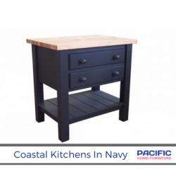 Coastal Kitchens in Navy. Maybe?