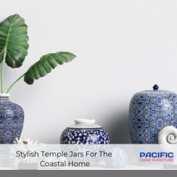 Stylish Temple Jars For The Coastal Home