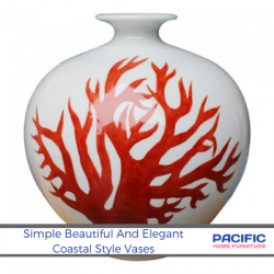 The Simple Beautiful Elegant Style Of Vases For The Coastal Home