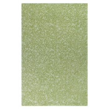 Crackle Wool Rug - Grass