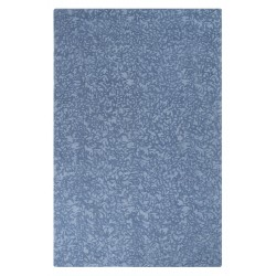 Crackle Wool Rug - Blue Iris