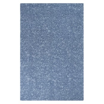 Crackle Wool Rug - Blue Iris
