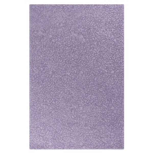 Crackle Wool Rug - Lavender