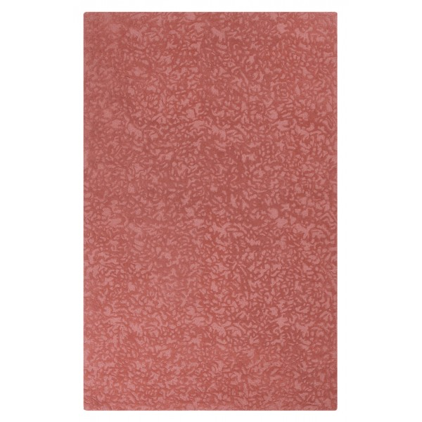 Crackle Wool Rug - Red