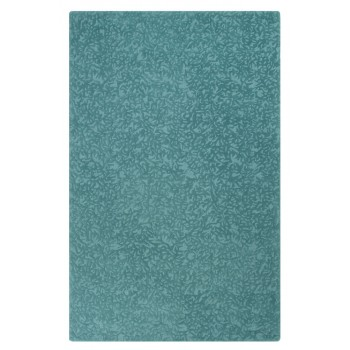 Crackle Wool Rug - Peacock