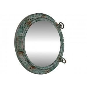 "Porthole Mirror 24"" (Titanic Shipwrecked Finish)"