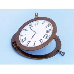 Industrial Metal Clock
