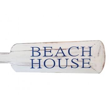 Wooden Rustic Beach House Decorative Oar