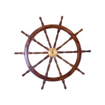 """Wooden Ship Wheel 36"""""""