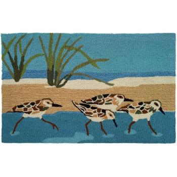 Oceanside Sandpiper Rug