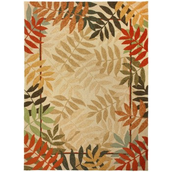 Painted Rain Forest Rug