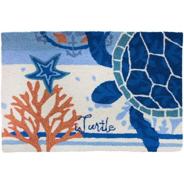 Turtle Medallion Rug