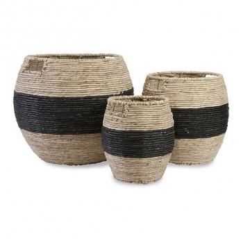 Dorran Woven Baskets - Set of 3