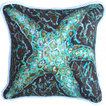 Mosaic Starfish Pillow