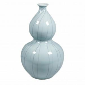 Crackle Celadon Double Gourd Vase
