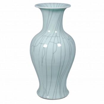 Crackle Celadon Fish Tail Vase