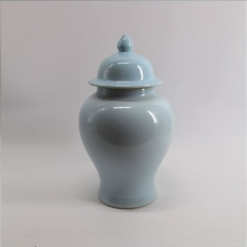 Icy Blue Temple Jar