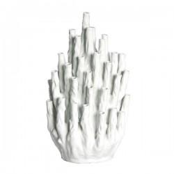 White Coral Vase