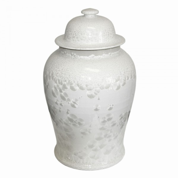 Crystal Shell Temple Jar