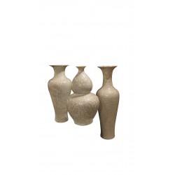 Crystal Shell Gourd Vase