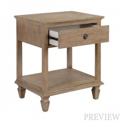 Victoria Nightstand (Open)