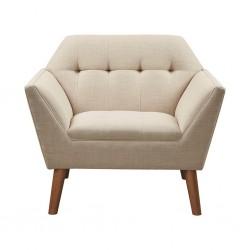 Newport Accent Chair-Beige