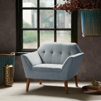 Newport Accent Chair-Light Blue
