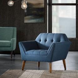 Newport Accent Chair-Blue
