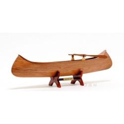 Indian Girl Canoe