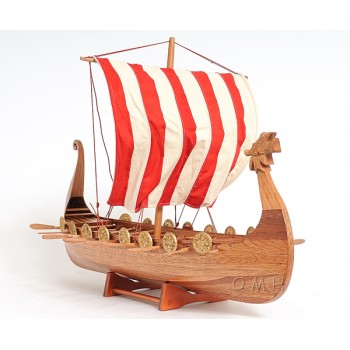 Drakkar Viking Long Boat