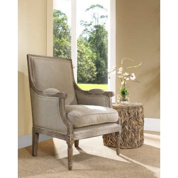 Carolina Beach Lounge Chair- Sand Linen