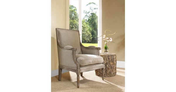 Carolina Beach Lounge Chair Sand Linen