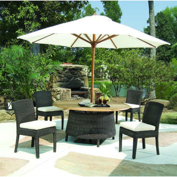 Outdoor Bay Harbor 60 Inch Dining Table