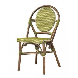 Paris Bistro Chair -Green-Set of 2