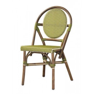 Paris Bistro Chair -Green-Set of 2