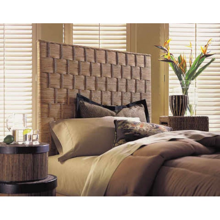 Rattan Weave Headboard Pacifichomefurniture Com
