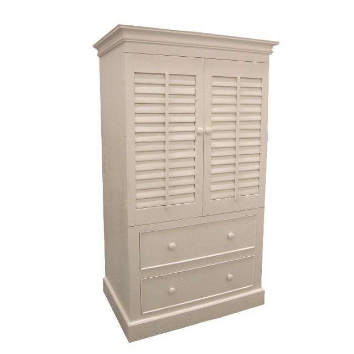 plantation entertainment center two drawers. Black Bedroom Furniture Sets. Home Design Ideas