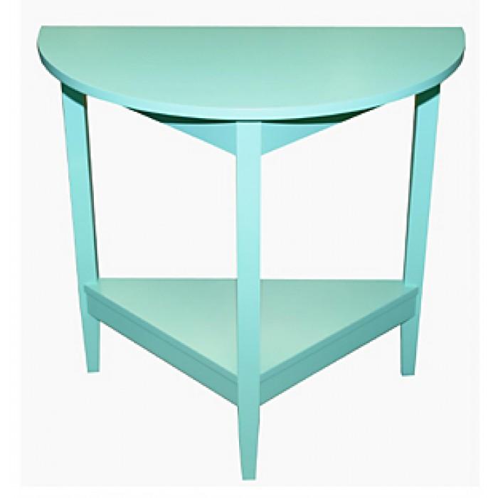 half round table. Black Bedroom Furniture Sets. Home Design Ideas