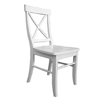 Single X Back Side Chair